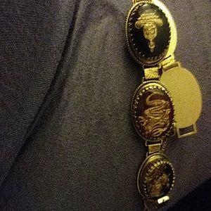 Whiting Davis chinese antique bracelet